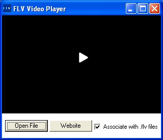 Play FLV files on your PC.