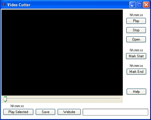 Click to view Video Cutter 1.0 screenshot